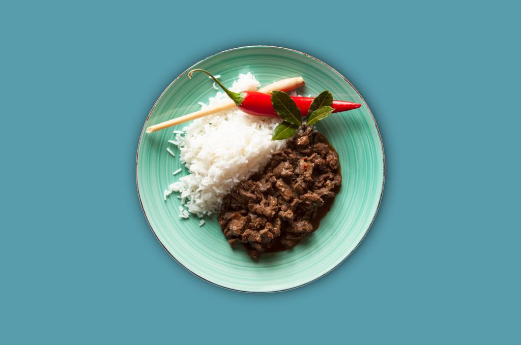 Bulgogi Beef mit Reis