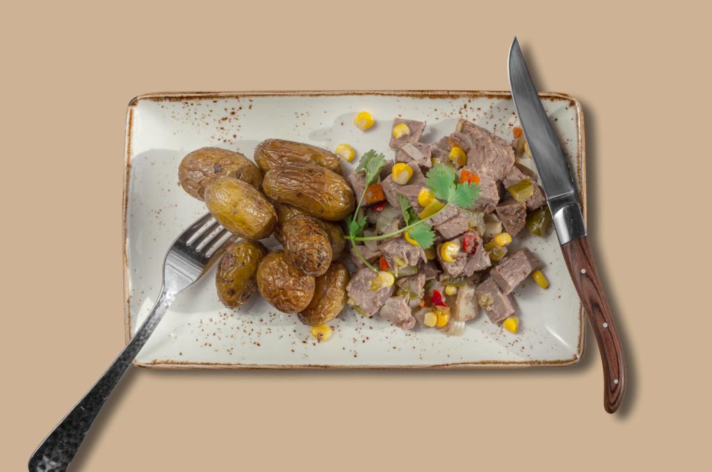 Rindfleischsalat mit Drillinge